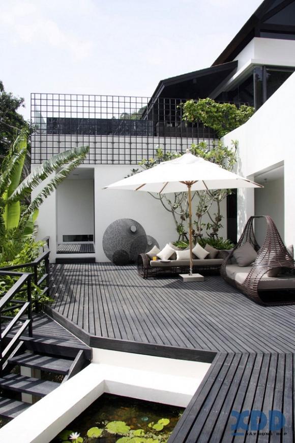 vuon dep 14 ngoisao.vn Cùng nhìn qua 8 mẫu thiết kế vườn tuyệt đẹp cho nhà phố