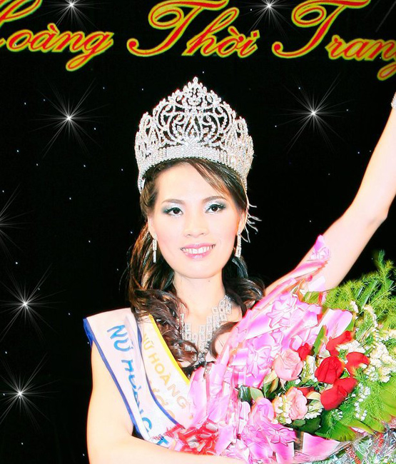 Gặp lại hoa khôi thời trang Cẩm Nhung, hoa khoi cam nhung, Hoa khoi thoi trang, Nữ Hoàng Thời Trang năm 2009