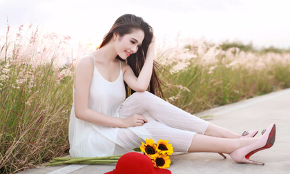 Nguyễn Thị Lê Nam Em, Áo dài Ngô Nhật Huy, Ngô Nhật Huy, Hoa khôi Đồng bằng sông cửa long 2015, hoa khoi dong bang song cuu long 2015