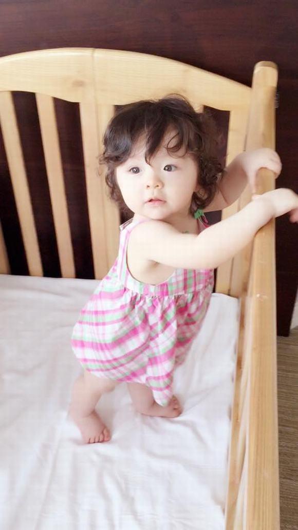 Cadie, con gái elly trần, cadie đáng yêu, elly trần, ảnh con gái elly trần