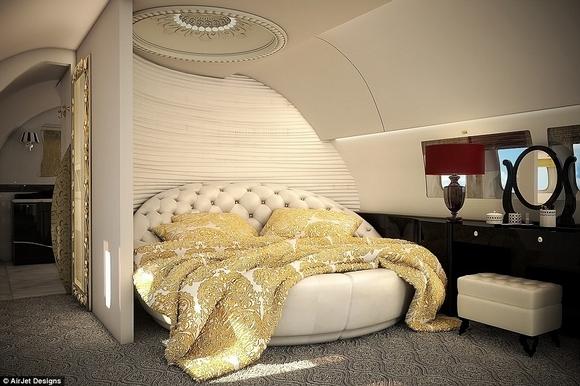 Khám phá nội thất phi cơ riêng siêu sang trọng và đẳng cấp của giới giàu có 9