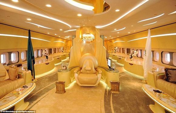 Khám phá nội thất phi cơ riêng siêu sang trọng và đẳng cấp của giới giàu có 6