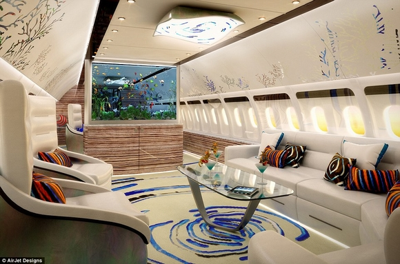 Khám phá nội thất phi cơ riêng siêu sang trọng và đẳng cấp của giới giàu có 17