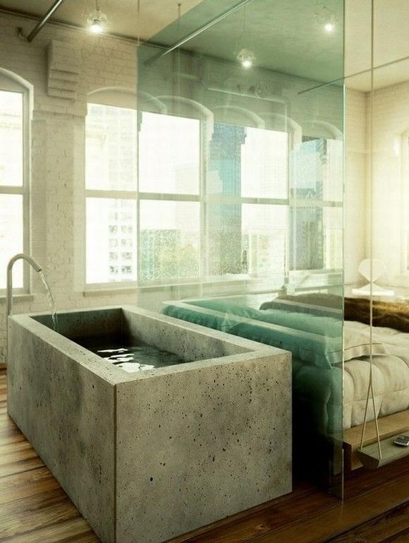 bon tam 10 ngoisao.vn Chia sẻ những mẫu thiết kế bồn tắm tuyệt đẹp trong phòng ngủ
