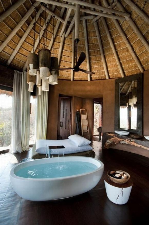 bon tam 18 ngoisao.vn Chia sẻ những mẫu thiết kế bồn tắm tuyệt đẹp trong phòng ngủ