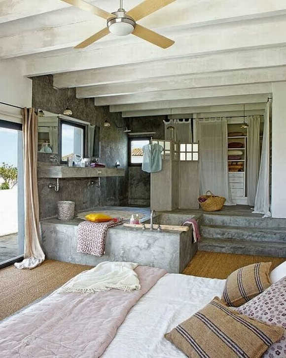 bon tam 19 ngoisao.vn Chia sẻ những mẫu thiết kế bồn tắm tuyệt đẹp trong phòng ngủ