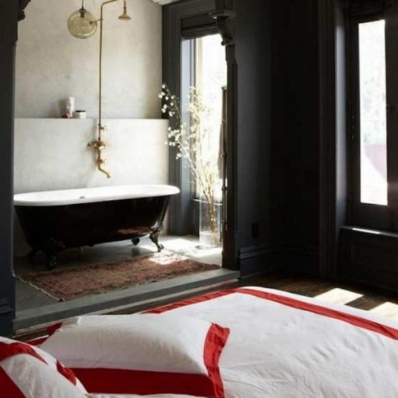bon tam 4 ngoisao.vn Chia sẻ những mẫu thiết kế bồn tắm tuyệt đẹp trong phòng ngủ