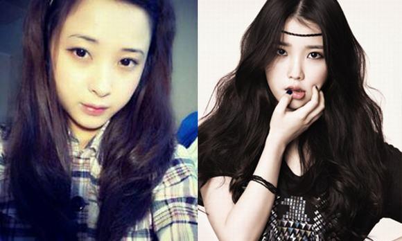ban sao my nhan han, my nhan han, cac ban tre giong my nhan han, ban sao Hong Soo Hyun, Lee Da Hae, Jang Nara, Yoona