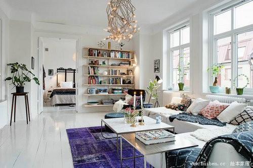 dua anh sang tu nhien vao nha 10 ngoisao.vn Thiết kế không gian đưa ánh sáng tự nhiên vào nhà cho căn hộ 87m2