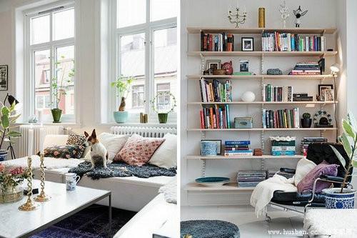 dua anh sang tu nhien vao nha 14 ngoisao.vn Thiết kế không gian đưa ánh sáng tự nhiên vào nhà cho căn hộ 87m2