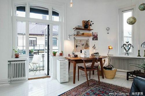 dua anh sang tu nhien vao nha 7 ngoisao.vn Thiết kế không gian đưa ánh sáng tự nhiên vào nhà cho căn hộ 87m2