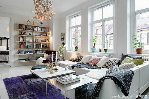 dua anh sang tu nhien vao nha ngoisao.vn Thiết kế không gian đưa ánh sáng tự nhiên vào nhà cho căn hộ 87m2