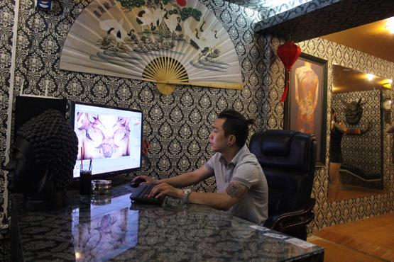 Ngọc Tân, Ngọc Tân xăm hình, ông chủ 9x, xam hinh noi tieng Ha Noi, địa chỉ hình xăm nổi tiếng, Vũ Ngọc Tân, ngoc tan la ai
