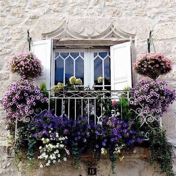 Trang trí 'khu vườn ban công' tuyệt đẹp cho ngôi nhà hiện đại 8
