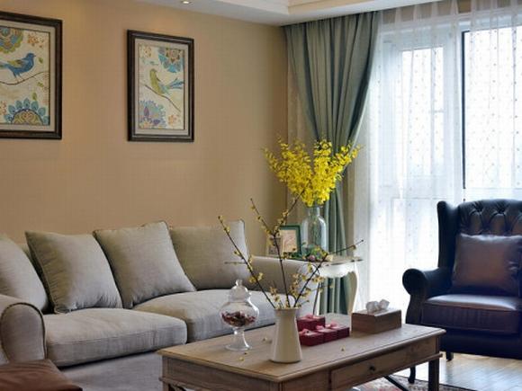 trang tri noi that 7 ngoisao.vn Thiết kế trang trí nội thất tuyệt đẹp của căn hộ 98m2