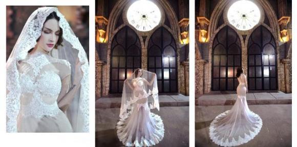 BST cưới đẹp mê hoặc của NTK Amy Đào,  NTK Amy Đào, bộ sưu tập áo cưới xu hướng 2015, váy cưới đẹp