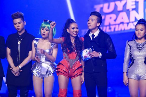 Thảo Trang, nữ ca sĩ Xấu lạ, Thảo Trang bị loại, Tuyệt đỉnh tranh tài 2015