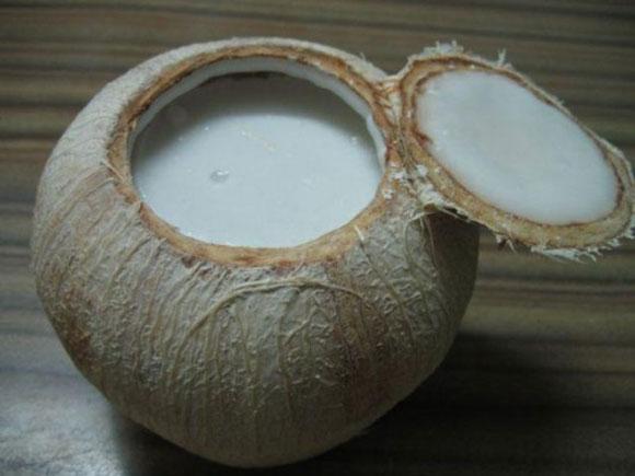 thạch dừa xiêm,cách làm thạch dừa,thạch dừa xiêm ngọt mát,món ăn mùa hè