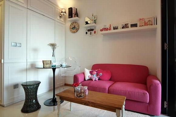Trang trí nội thất thanh lịch của căn hộ 33 m2  8