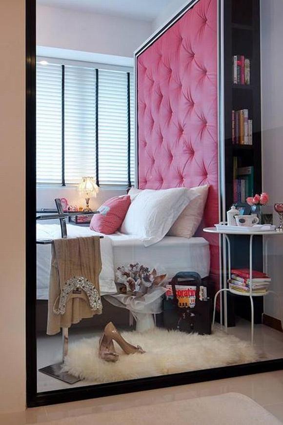 Trang trí nội thất thanh lịch của căn hộ 33 m2  6