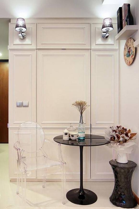 Trang trí nội thất thanh lịch của căn hộ 33 m2  2