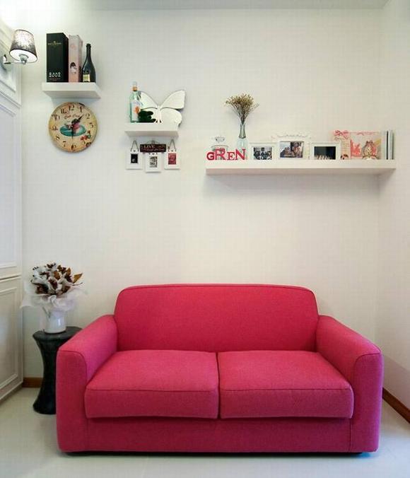 Trang trí nội thất thanh lịch của căn hộ 33 m2  1