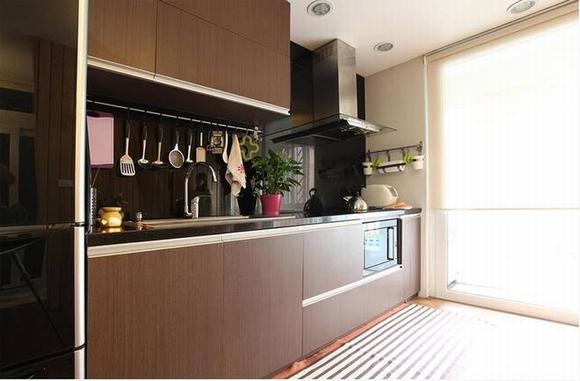 Trang trí nội thất sang trọng của căn hộ 60m2 6