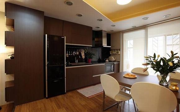 Trang trí nội thất sang trọng của căn hộ 60m2 3