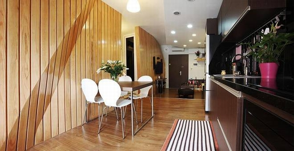 Trang trí nội thất sang trọng của căn hộ 60m2 0