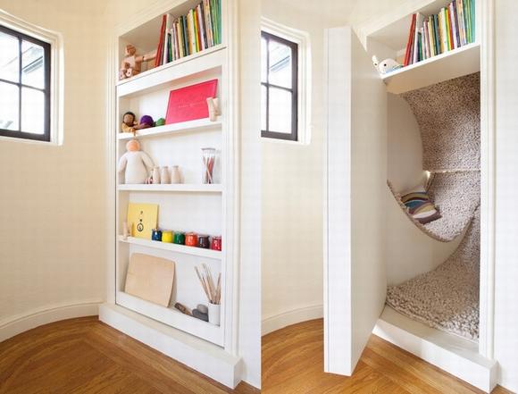 ngan bi mat1 ngoisao.vn Thiết kế phòng bí mật cho căn nhà với những cách đơn giản