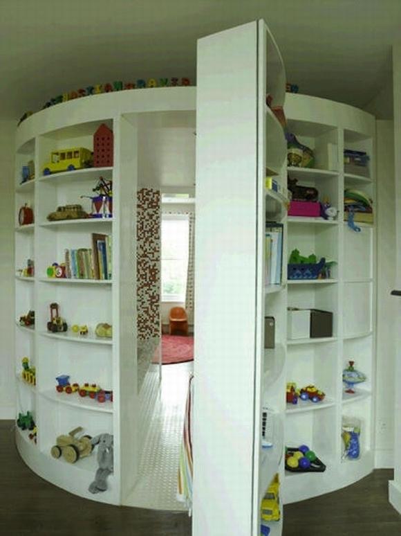 ngan bi mat11 ngoisao.vn Thiết kế phòng bí mật cho căn nhà với những cách đơn giản