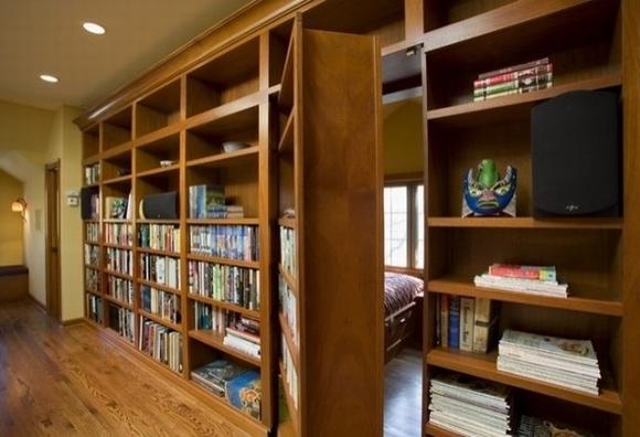 ngan bi mat3 ngoisao.vn Thiết kế phòng bí mật cho căn nhà với những cách đơn giản