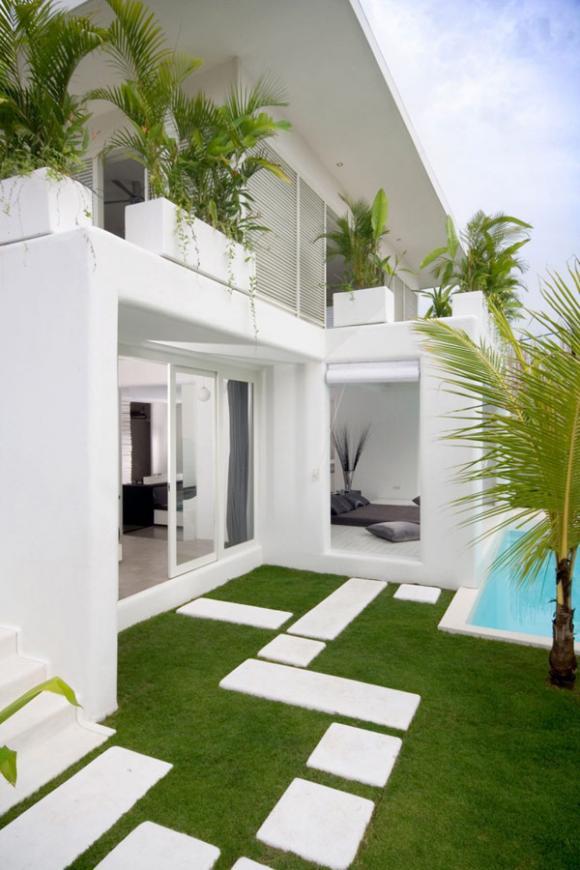 lovelli residence 02 800x12 ngoisao.vn Tham quan ngôi nhà 2 tầng tông trắng bài trí tuyệt đẹp