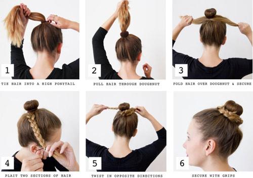 kiểu tóc 5 phút cho buổi sáng bận rộn 1 4
