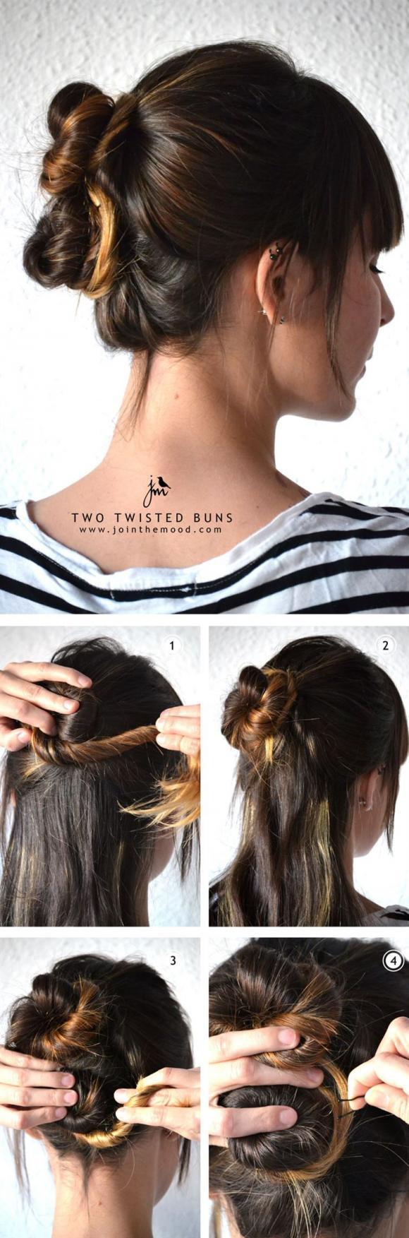 kiểu tóc 5 phút cho buổi sáng bận rộn 1 8