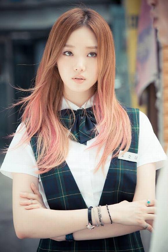 Mỹ nữ xứ Hàn mắt đẹp 8