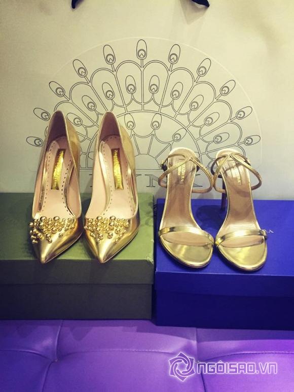 Ngọc Trinh khoe giày hiệu  4