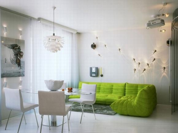 trang tri phong khach tuyet dep voi noi that mau xanh 10 ngoisao.vn Thiết kế và trang trí phòng khách tuyệt đẹp với điểm nhấn nội thất màu xanh