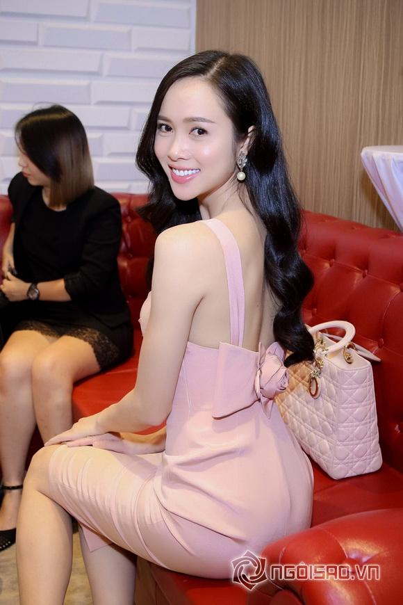 Vũ Ngọc Anh nổi bật với váy pastel 1