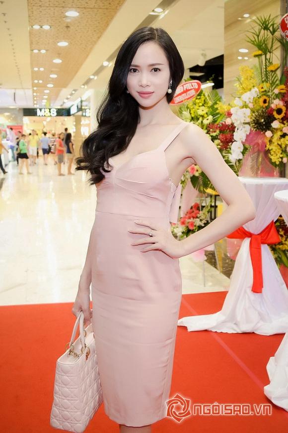 Vũ Ngọc Anh nổi bật với váy pastel 8