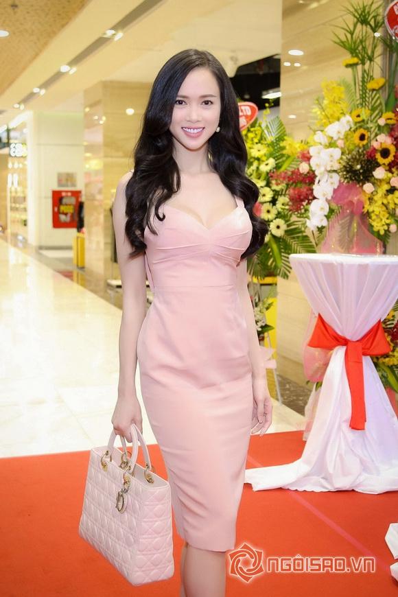 Vũ Ngọc Anh nổi bật với váy pastel 7