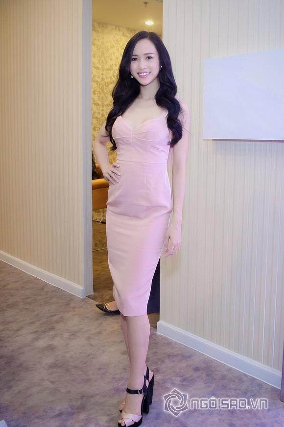 Vũ Ngọc Anh nổi bật với váy pastel 5