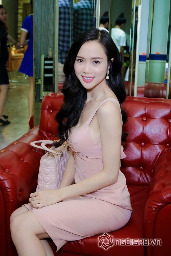 Vũ Ngọc Anh nổi bật với váy pastel 4
