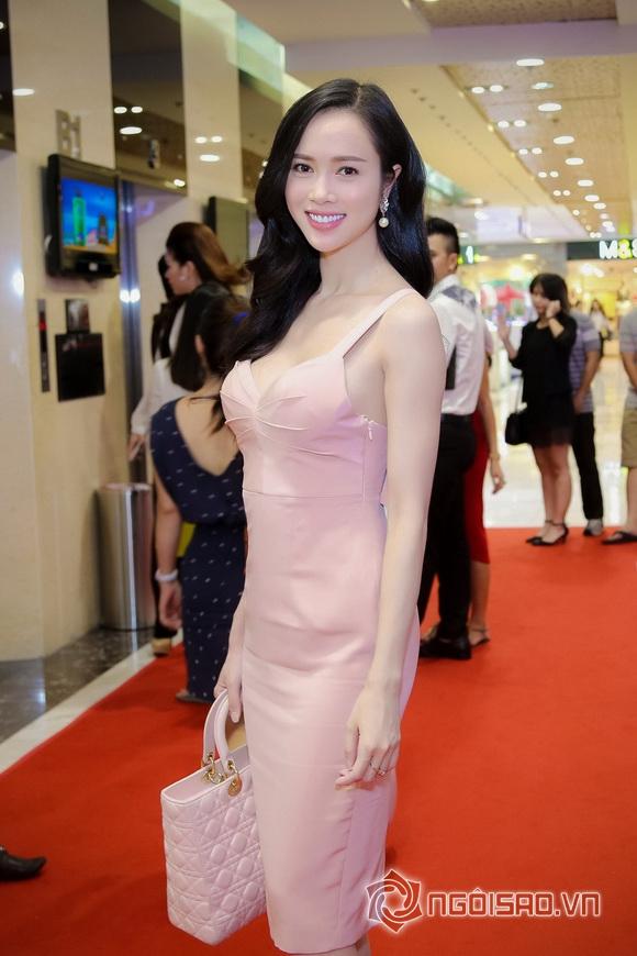 Vũ Ngọc Anh nổi bật với váy pastel 3