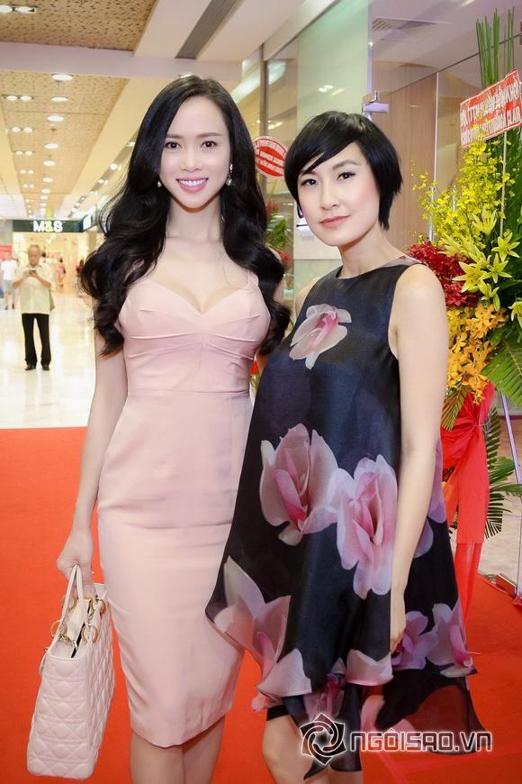 Vũ Ngọc Anh nổi bật với váy pastel 0