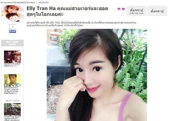 Mỹ nhân Việt lên báo nước ngoài 14