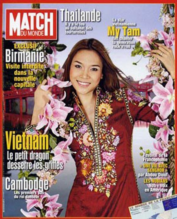 Mỹ nhân Việt lên báo nước ngoài 13