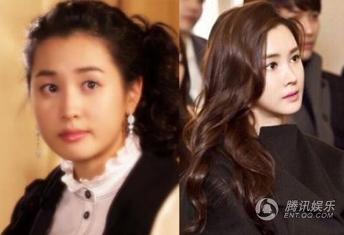 sao đình đám xứ Hàn,sao Hàn lộ dao kéo,Choi Ji Woo,Kim Hee Sun,Lee Da Hae,Chae Rim