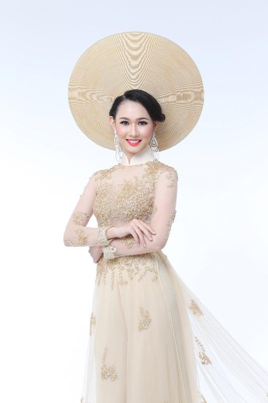"""Vẻ đẹp """"Nữ thần"""" của thí sinh Hoa hậu Hoàn vũ Việt Nam 2015"""