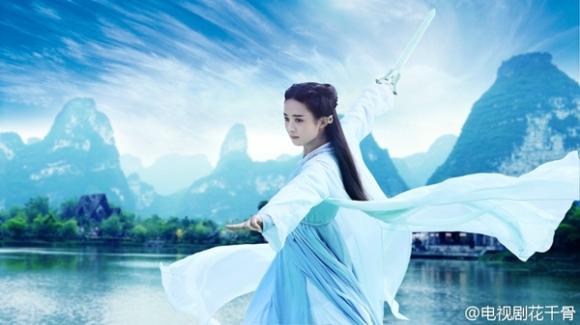 Triệu Lệ Dĩnh hóa Hoa Thiên Cốt đẹp tựa tiên nữ 2